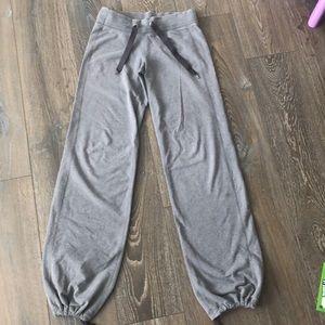 Lululemon sweatpants - adjustable bottoms